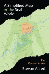 Front cover of Stevan Allred's A Simplified Map of the Real World